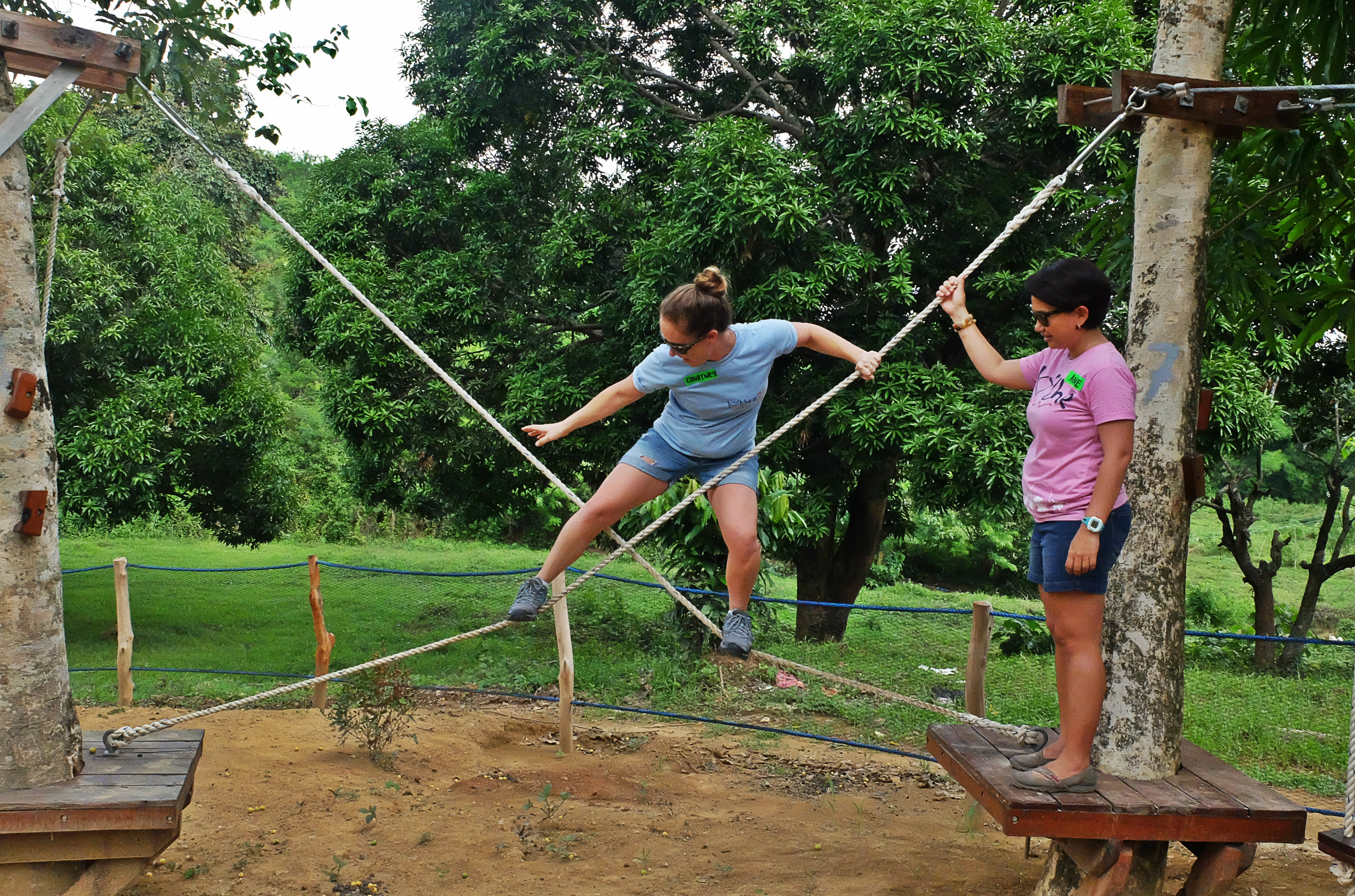 Gemelina Rope Course - Quest Adventure Camp