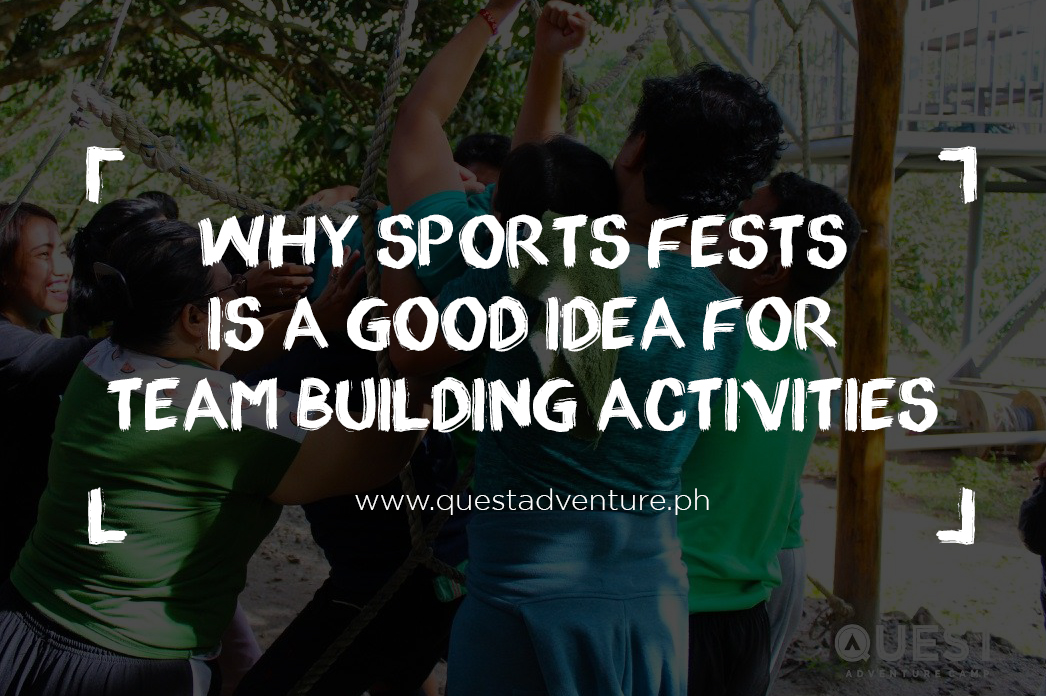 Why Sports Fests Is a Good Idea for Team Building Activities